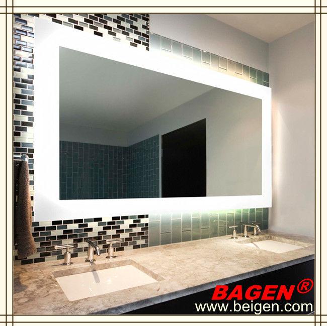 moderno cuarto de bao espejo luz pared decorativa espejos aos de suministro para