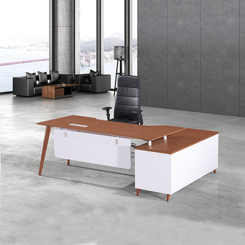 Exclusive MDF Office Table Top Wooden Office Table Design