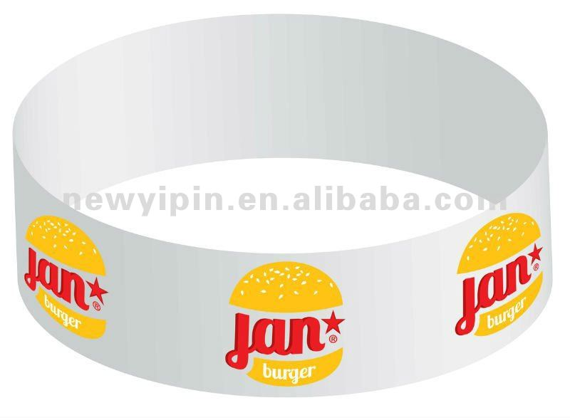 2014 Jan Burger silicone band wristband for gadget gifts