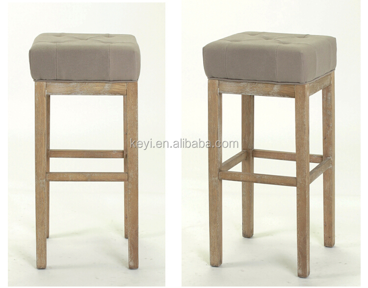 Stile antico colorato e piazza sedile bar a casa sedia sedili in