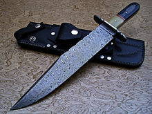 custom made damascus staal <span class=keywords><strong>jachtmes</strong></span>