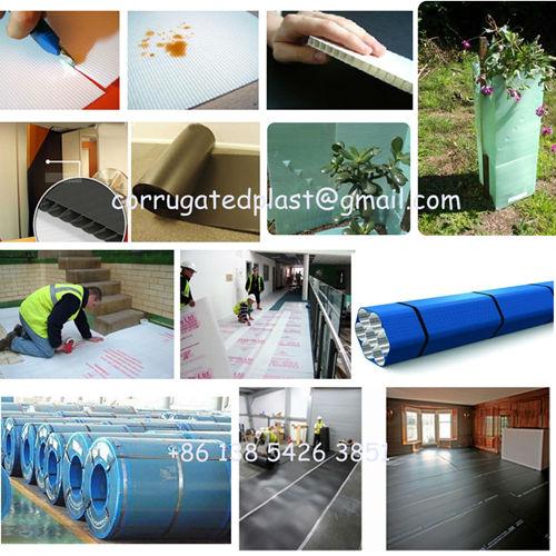 Pp Material Corrugated Plastic Pallet Divider Sheets Buy