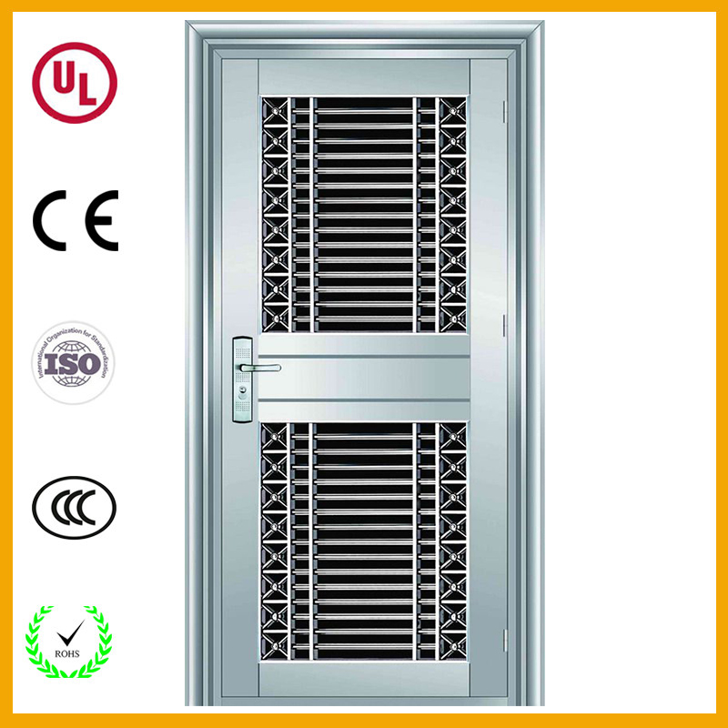Modern Front Door Stainless Steel Safety Grill Door Designs India