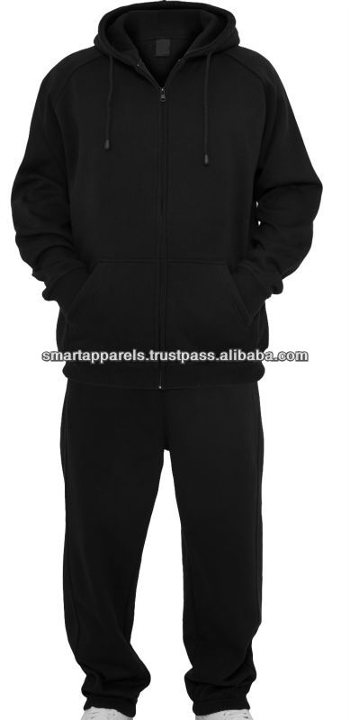 Good quality sport safety LED light mens jogging suits wholesale