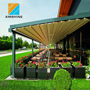 Cheap aluminum retractable side outdoor awning
