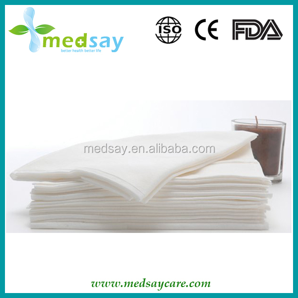 Disposable spunlace non woven hair salon towel