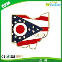 Winho Official Ohio Flag Lapel Pin