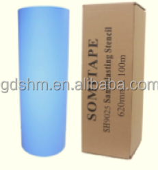 SOMITAPE Self Stick Sandcarving Film for Glass and Stone