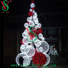 LED street motif light, 3D tree ball light, led Christmas motifs