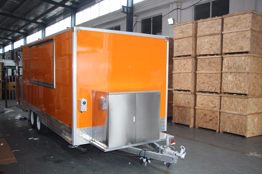 Modelo YS-FV580 varios estilo coche móvil de alimentos carrito de ...
