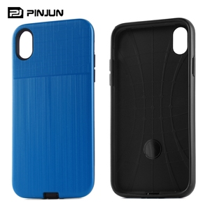 2 in 1 pc tpu dual layer hybrid shockproof back cover for iphone xr mobile phone shell,for iphonexr case