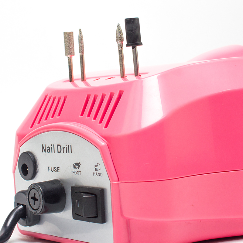 Electric manicure pedicure nail drill mini electric rechargeable polish nail drill