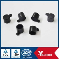 China Manufacture Custom EPDM Rubber Cap / NBR Rubber Cover / Silicone Rubber Cap