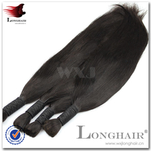 New style virgin hair weave indian bulk hair extensions without weft