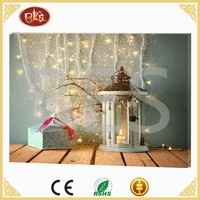 Customizable Christmas Canvas Home Decoration Painting For Office Wall