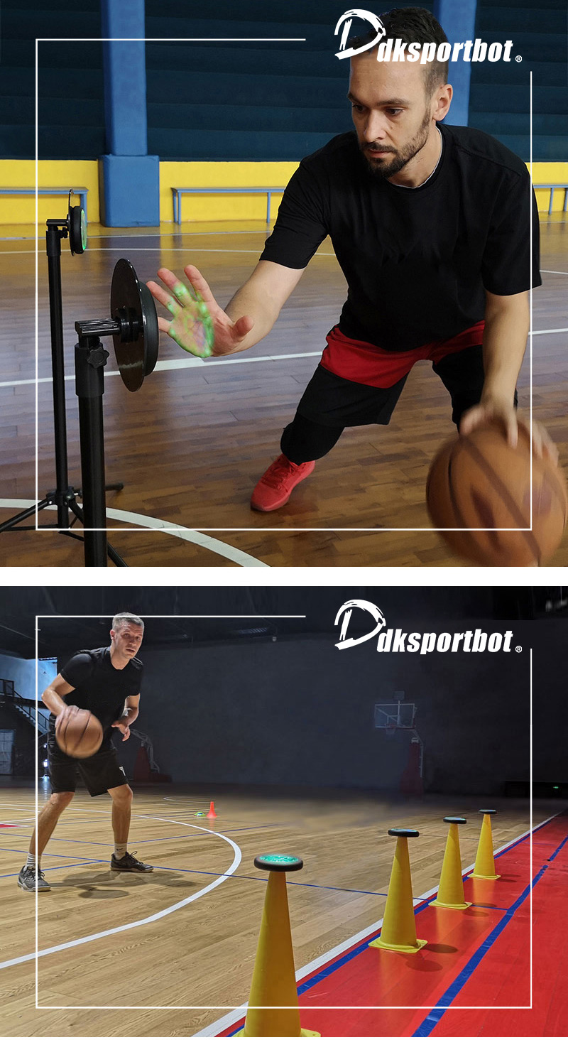 Sport Training Partner Agile Reaktion Licht für Fußball Basketball Badminton