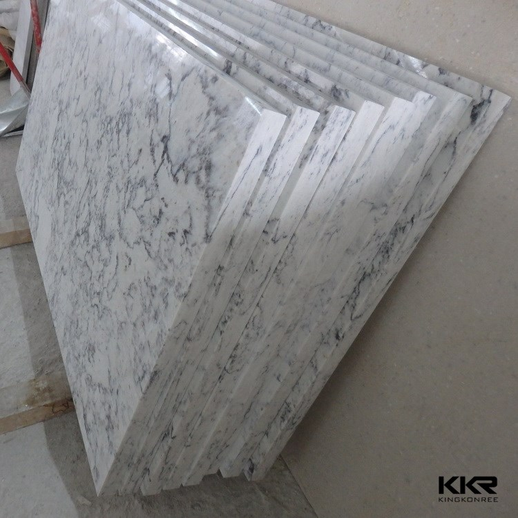Artificial Marble Flooring : Italian tiles cover kitchen quartz stone indoor