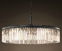 best price and good quality modern crystal pendant lamp chandeliers ceiling lamp UL CUL ETL CE ROHS hotel lamp zhongshan factory