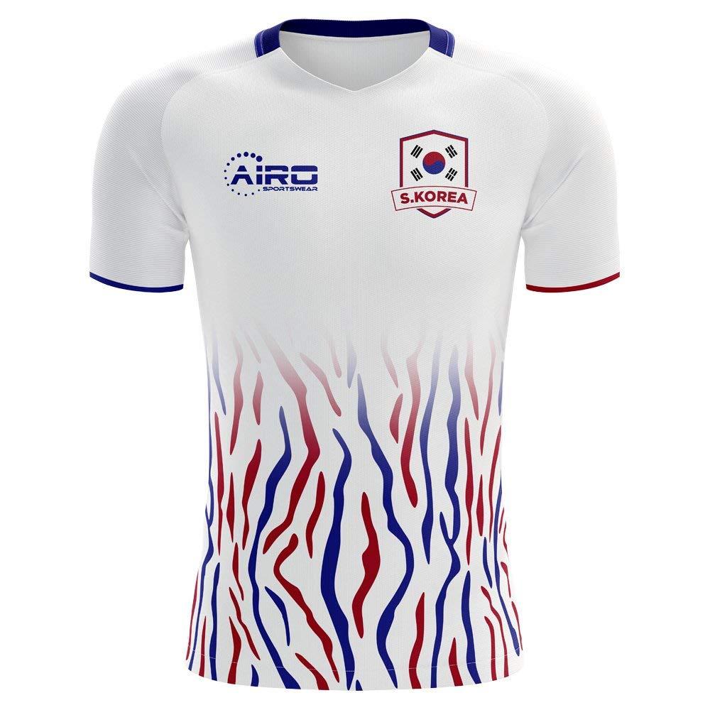 b4d41391844 Get Quotations · Airo Sportswear 2018-2019 South Korea Away Concept  Football Shirt (Kids)