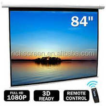 "84"" projection screen vinyl /pvc matt white projection screen factory/ Projection Screen Price"
