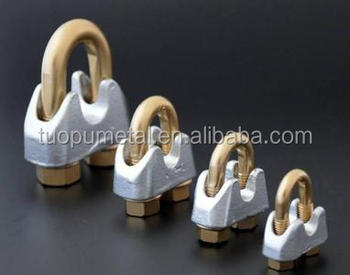 China Cheap Fasteners Wire Rope Clips,Galvanized Din 741 Wire Rope ...