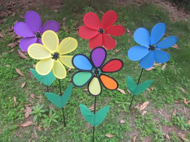 Garden Wind Spinners Toy Windmills Flower Windmills Buy Garden