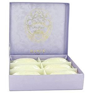 Rance Soaps Perfume By RANCE 6 x 3.5 oz Iris Royal Soap Box FOR WOMEN