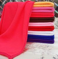 Cleaning Cloth Towel 350Gsm High Water Absorption Cloth Warp Knitting Waffle Twist Suede Solid Microfiber Hair Towel