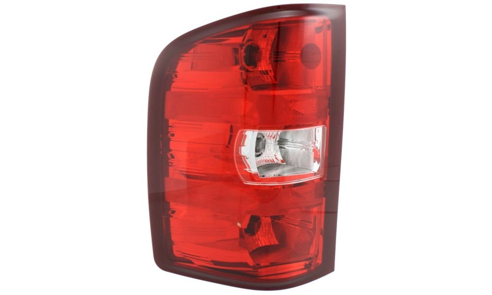 Driver Side Replacement Tail Light Assembly for 2007-2013 Chevrolet Silverado 1500 & 2007-2010 Silverado 2500 HD Replaces Partslink# GM2800207
