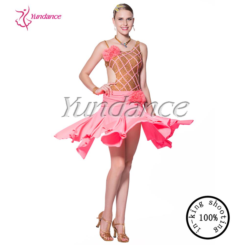 L-14117 Nueva Llegada Salón Trajes De Danza Latina Para Las Mujeres ...