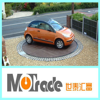 Auto car turntable home rotating parking equipment buy for Car turntable plans