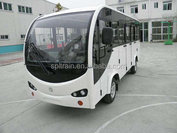 Electric Penger Car Small Bus Mini Airport Shuttle Golf Tourist 14 Seats Vehicle