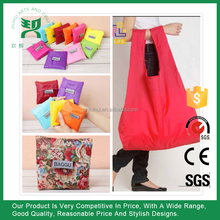 Women Folding Reusable Recycling Shopping Bag