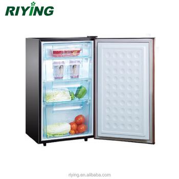 Bd 80 pequeno freezer vertical mini freezer vertical com 4 - Temperatura freezer casa ...