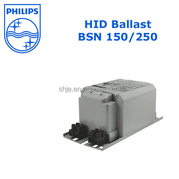 Philips 250w High Pressure Sodium Ballast Bsn 150 250