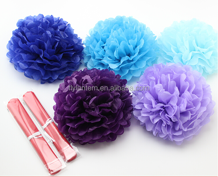 "Hot sale 8"" 20 cm DIY Paper Flower hanging flower balls for wedding party <strong>decoration</strong>"