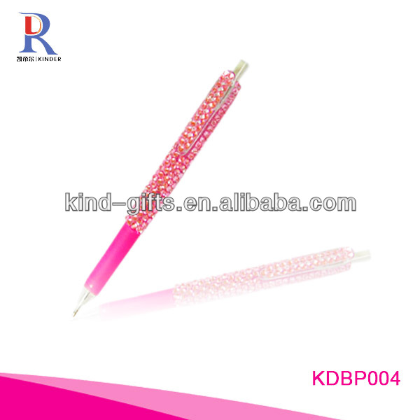 Hot Sale Bling Rhinestone Discount Pens With Crystal China Factory