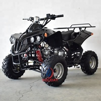 4 wheel road legal quad bike 125cc pit bike/atv for adult