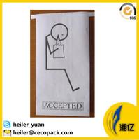 Disposable flexo printing pe laminated paper airsickness vomit bag