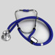 Custom wholesale cardiology single head zinc alloy stethoscope medical devices electronic PVC tube single head stethoscope