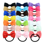 Wholesale Low Price Beautiful Sweet JOJO Siwa Hairbows Elastic Hair Rope Strong Elastic Kids Hair Rope Hair Accessories for Girl
