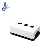 Elettronico parti in plastica push button control box ip44 per tre fori <span class=keywords><strong>ascensore</strong></span> scatola di controllo IP54 XDL3-B03