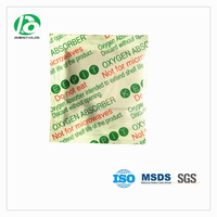 Non Toxic oxygen absorber for food which can run through the metal detector