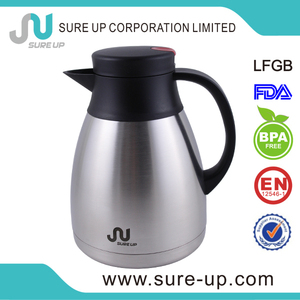 Wholesale stainless steel vacuum insulated carafe jug thermos (JSCD)