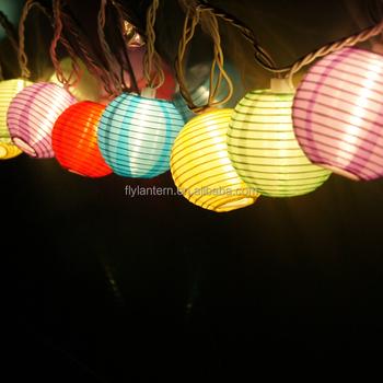 Paper Lampion For Decoration Led Light