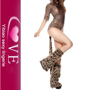 c387bc13c12 Leopard Print Wildcat Sexy Halloween Teddy Costume With Tail And Boots