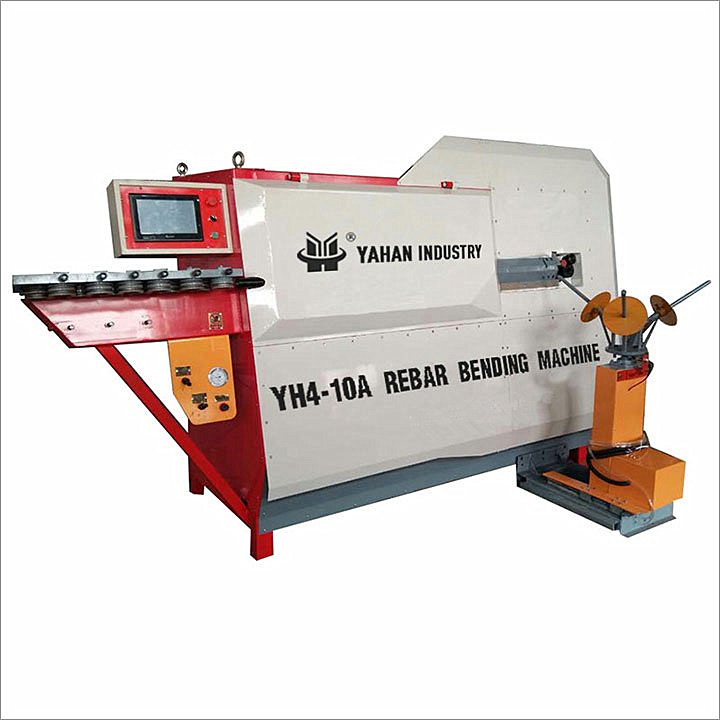 Yh 4-10a Cnc Automatic Steel Wire Rod Bending Cutting Machine - Buy Steel  Wire Rod Bending Machine,Steel Rod Cutting Machine,Wire Rod Bending Cutting