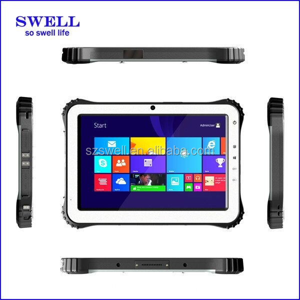 octa core 10.1inch rugged tablet pc with 5 points capacitive touch screen with barcode scanner