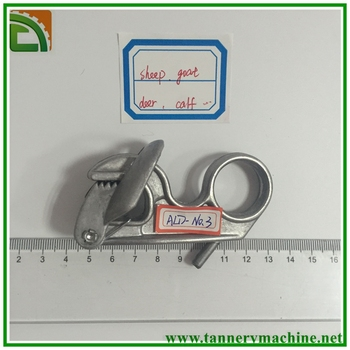 ALD-NO.3 round head aluminum toggling machine clips