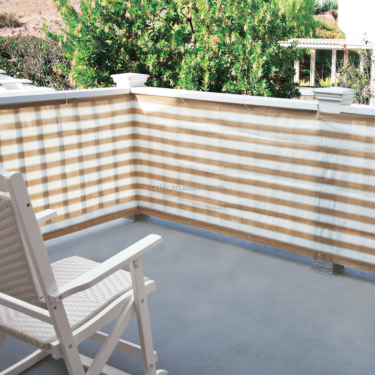 Balcony Privacy Cover Fence Screen For Sun Protection
